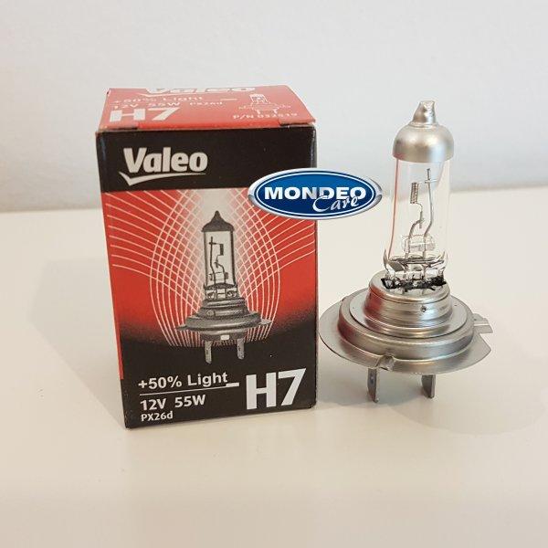 Žárovka H7 VALEO +50% LIGHT